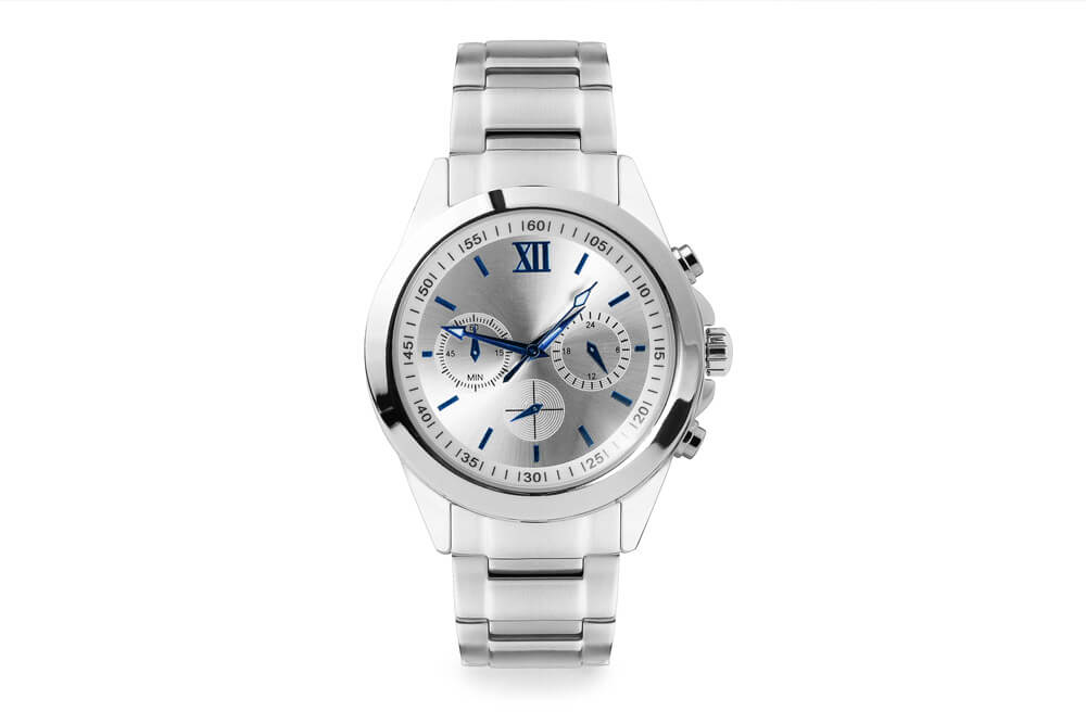 Image correction of watches