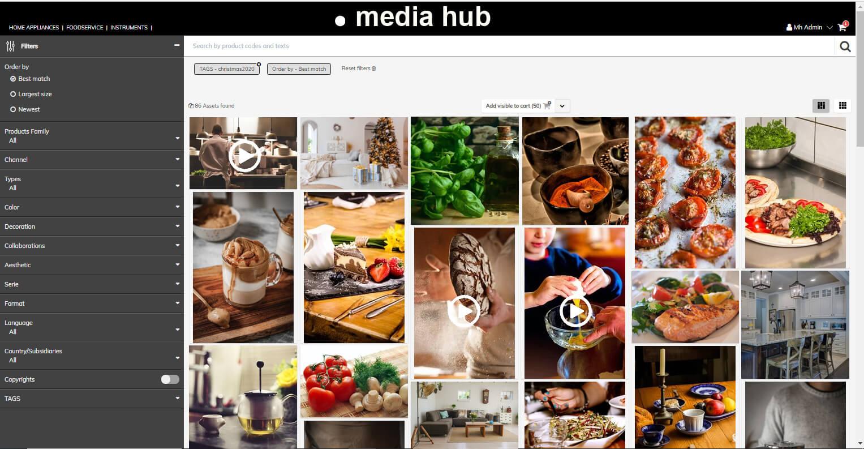 Media Hub, the advanced DAM for multi medial assets