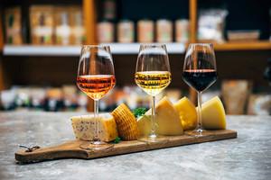 Pulizia immagine di vino